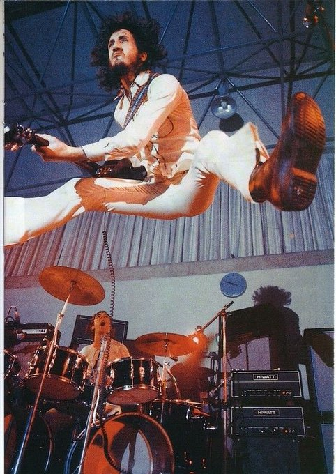 Belated Happy Birthday to master levitator Pete Townshend.