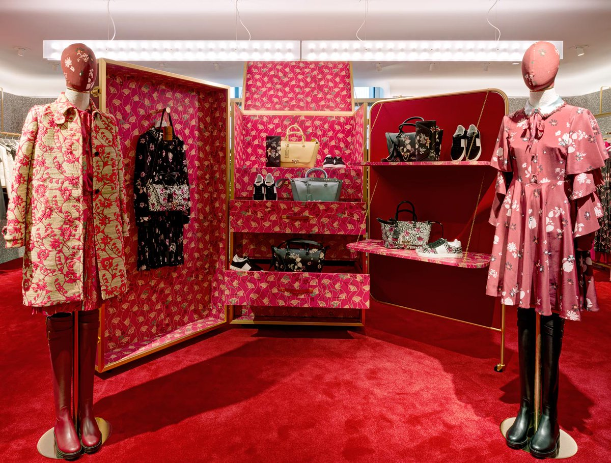 Introducing #Valentino #PreFall17 Collection by #PierpaoloPiccioli special installation at @Bergdorfs in #NYC https://t.co/BH9wBYNa0E