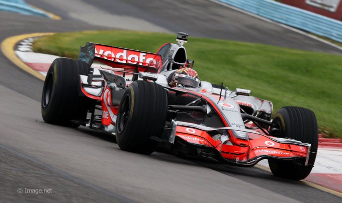 Happy Birthday Tony Stewart!  (McLaren-Mercedes MP4-23 at Watkins Glen, 2011)