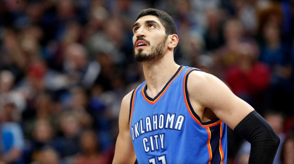 Turkish NBA player Enes Kanter blames Erdogan for detention in Romania: