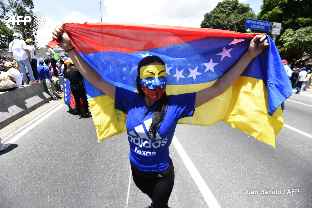 Up to 200,000 protesters march against Venezuela's Maduro