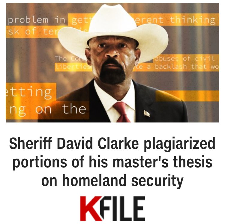 Here's our story on @SheriffClarke:  https://t.co/YXrFbBXcYE https://t.co/aWGvQUBpR1