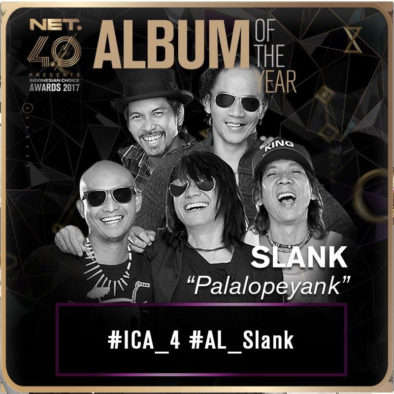 Vote juga album #Palalopeyank dengan kirim tweet: #ICA_4 #AL_Slank https://t.co/JpCyX3O0Ud