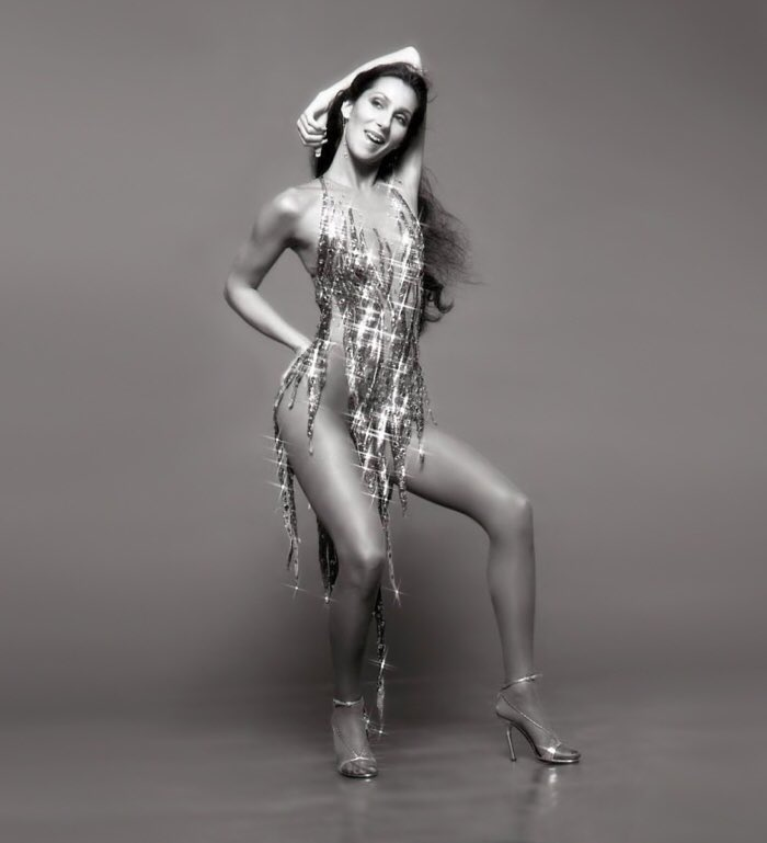 71 years young. Happy Birthday to my idol, Cher. Thank you for the music.