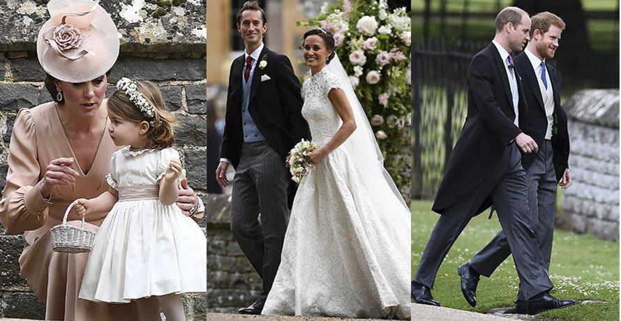 Matrimonio Pippa Middleton : 30 adorables fotos del matrimonio de pippa middleton: el vestido