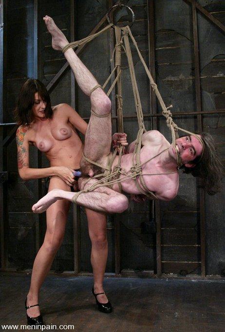 https://t.co/BdtAciDiu8 #LexiBardot #strapon #pegging #femdom #bondage #cbt #teasing #suspensionbondage