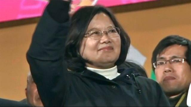Approval ratings fall for Taiwan's first female president Tsai Ing-wen