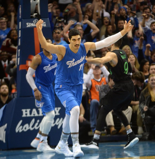 Happy 25th Birthday Enes Kanter 25 moments to celebrate  via