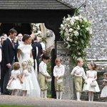 Pippa Middleton weds financier in star-studded ceremony