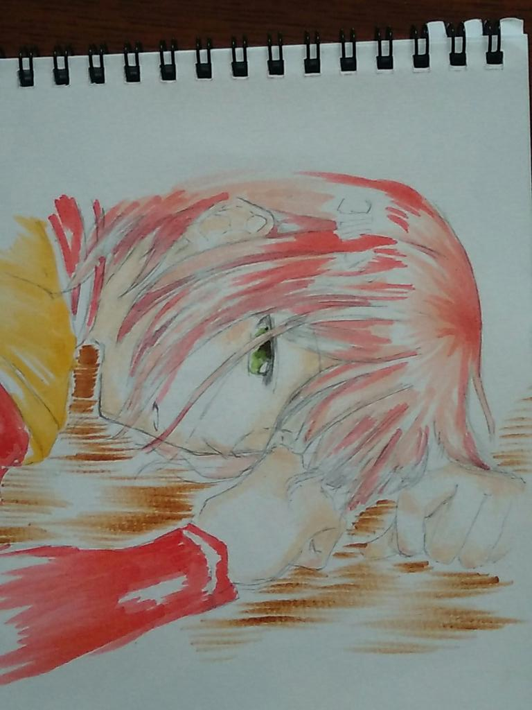 #赤髪の白雪姫   イラスト。たった1度の恋ならば………