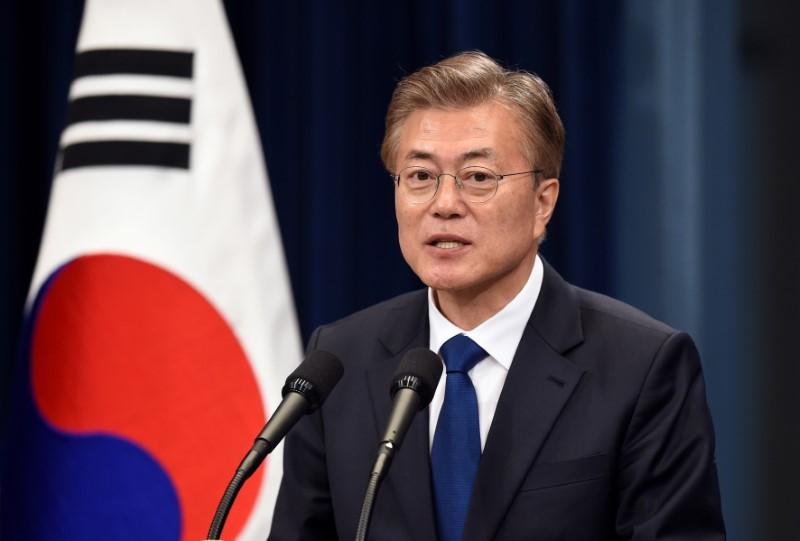 South Korea's Moon names top ministers and security adviser
