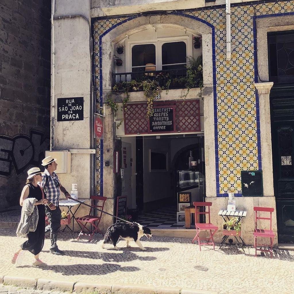 test ツイッターメディア - リスボンの街角、アイスクリーム屋さん前。 #リスボン #ポルトガル https://t.co/cmOmPgwMVP
