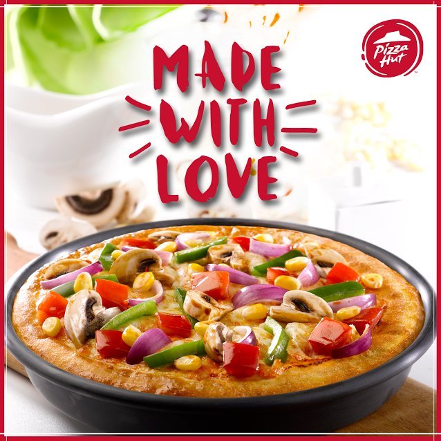 All set to be served with love. Come, relish our super savoury pizzas today ThinkPizzaThinkPizzaHut https t.co Sdo81NNDeK