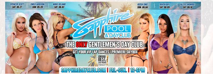 1 pic. Next stop on my feature tour is @TheSapphireLV June 2 and @SapphireDayClub June 3 https://t.c