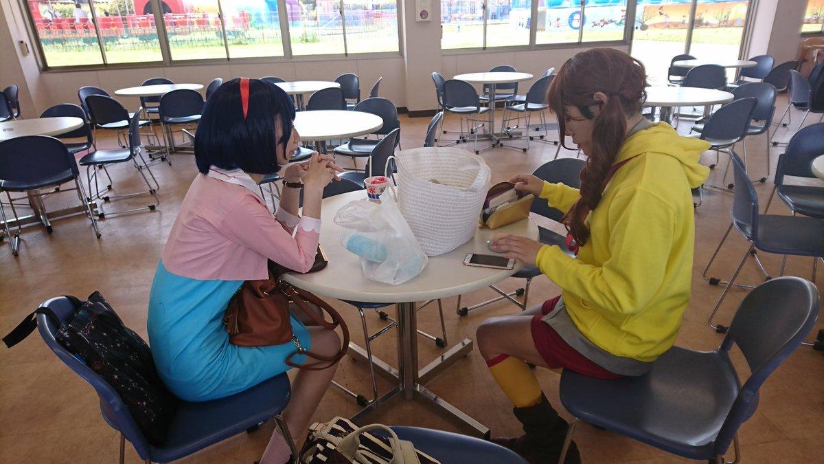 ミラージュランドに遊びに来た由希奈と美夏#クロムクロ