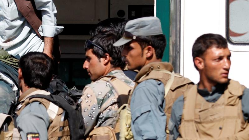 At least 20 policemen killed in Taliban ambushes in southern Afghanistan, officials said