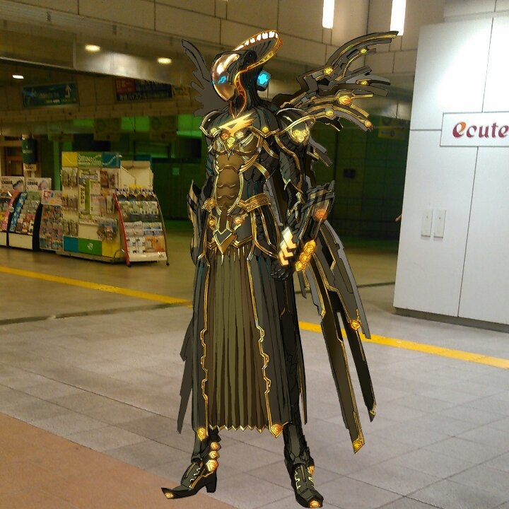 立川駅構内にいます!:  #GATCHAMANCrowds #butaimeguri