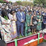 Thousands attend Byanyima burial in Mbarara