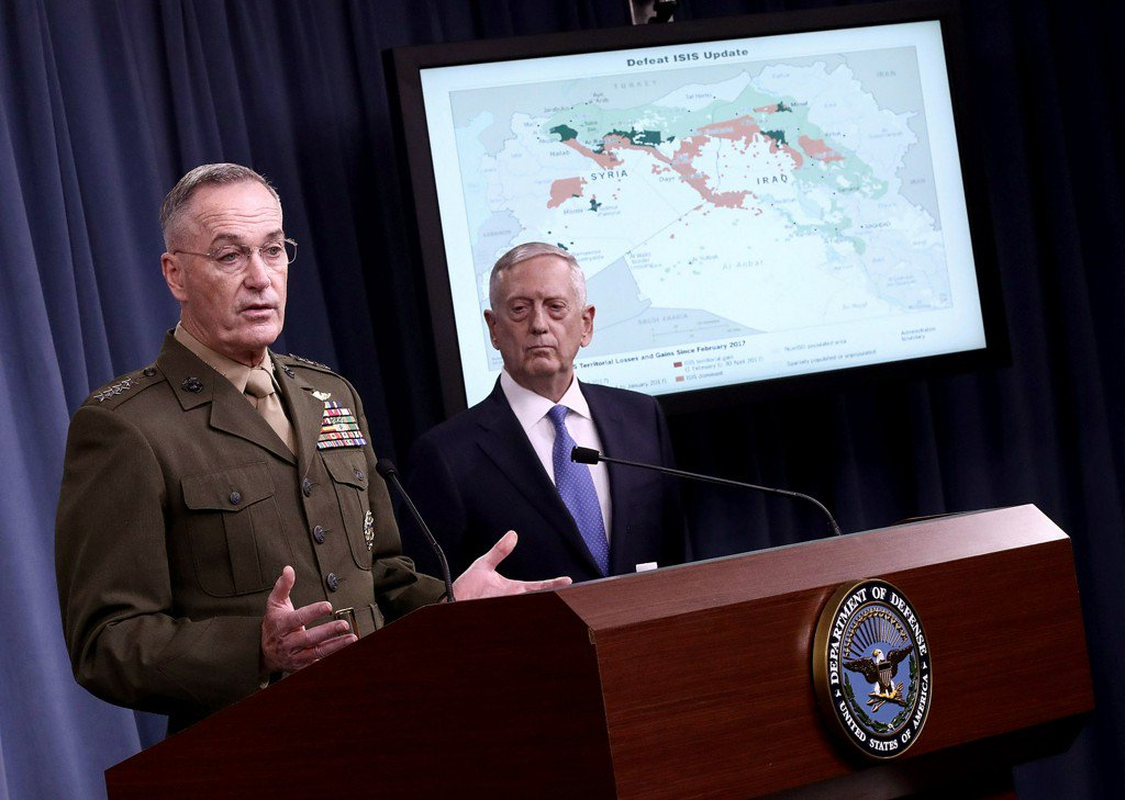 U.S. airstrike in Syria targeted forces directed by Iran: defense secretary