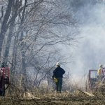 Battle to contain forest fire under way in South Jersey