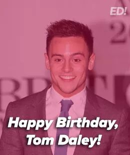 Happy birthday to Tom Daley who turns 23 years old today! ;)
