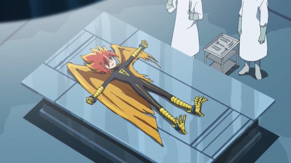怪盗ジョーカーのフェニックス②ぴっちりスーツとか羽が撃たれて傷ついてるとか、センスの良さを感じる。