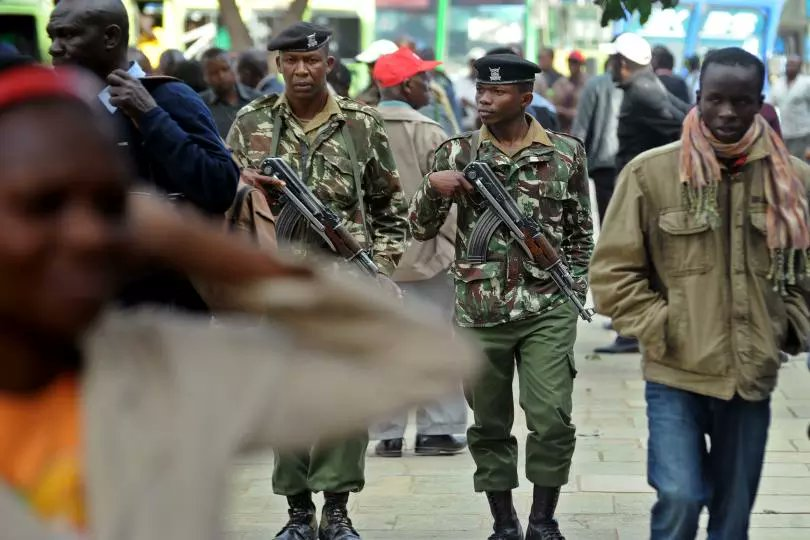 G4S guard shot dead at KDF's home
