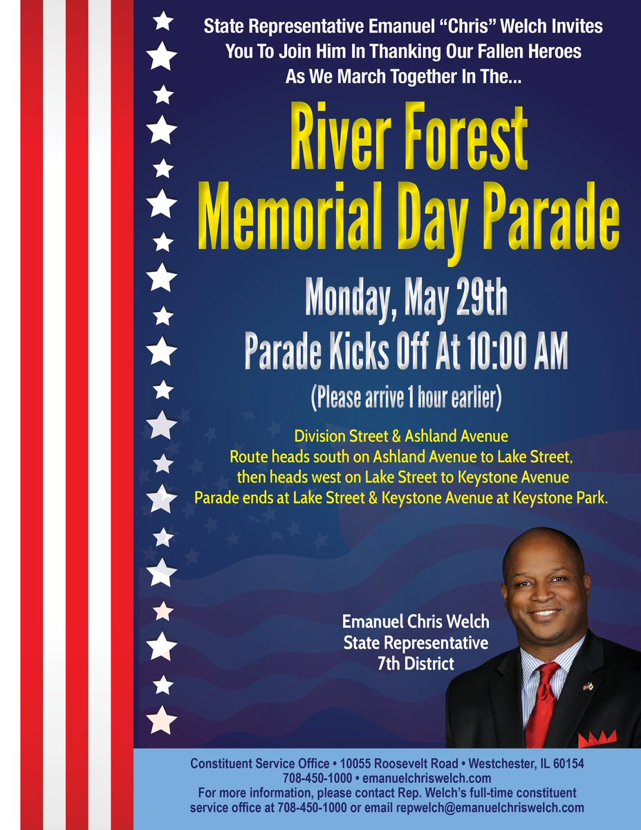 test Twitter Media - What are you doing on Memorial Day morning?  Volunteer to walk with my team in the River Forest Memorial Day Parade.  #MemorialDay #Parade https://t.co/0i0XxASrVe