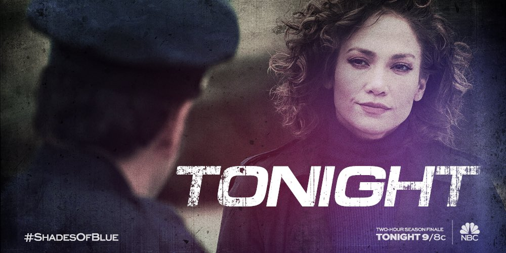 Our #ShadesofBlue 2 HOUR finale is airing an hour earlier tonight… we start at 9/8c. Do not miss! #shadysunday https://t.co/nYtyawBE7S