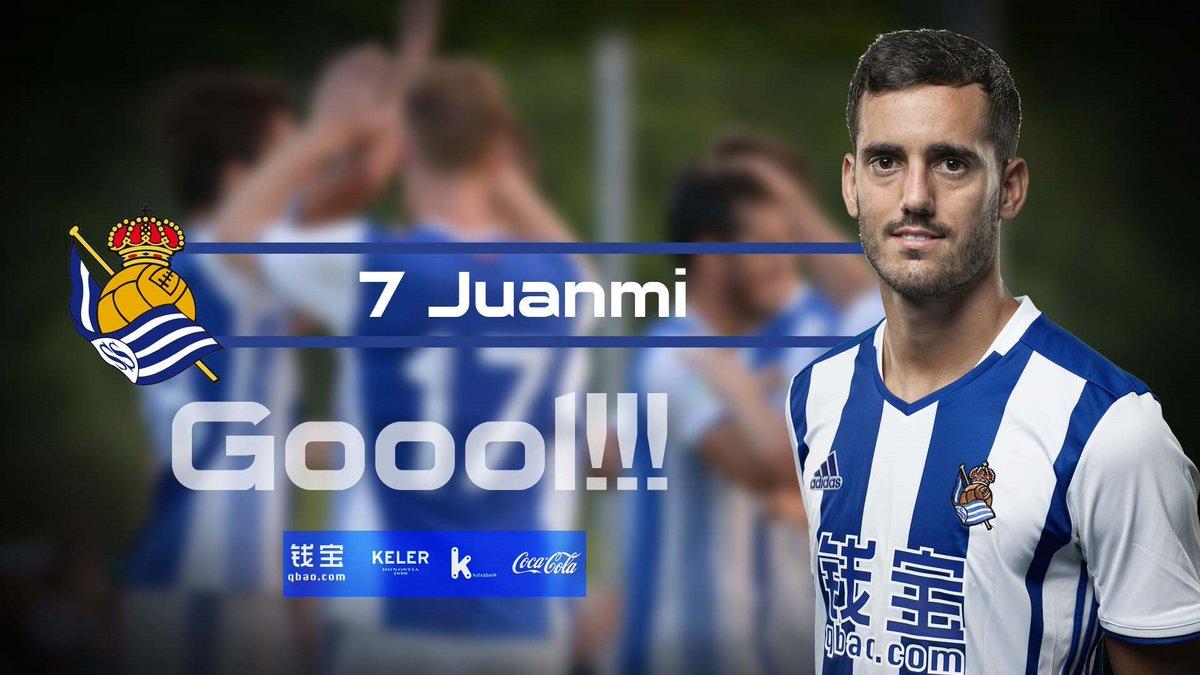 RT @RealSociedad: 93' GOOOOOOOOOOOOOLLLLLLLLLLL!!!!!!!! JUANMI!!!!!!!!!!!!!! 2-2. #CeltaRealSociedad https://t.co/4ppRBVdjr6