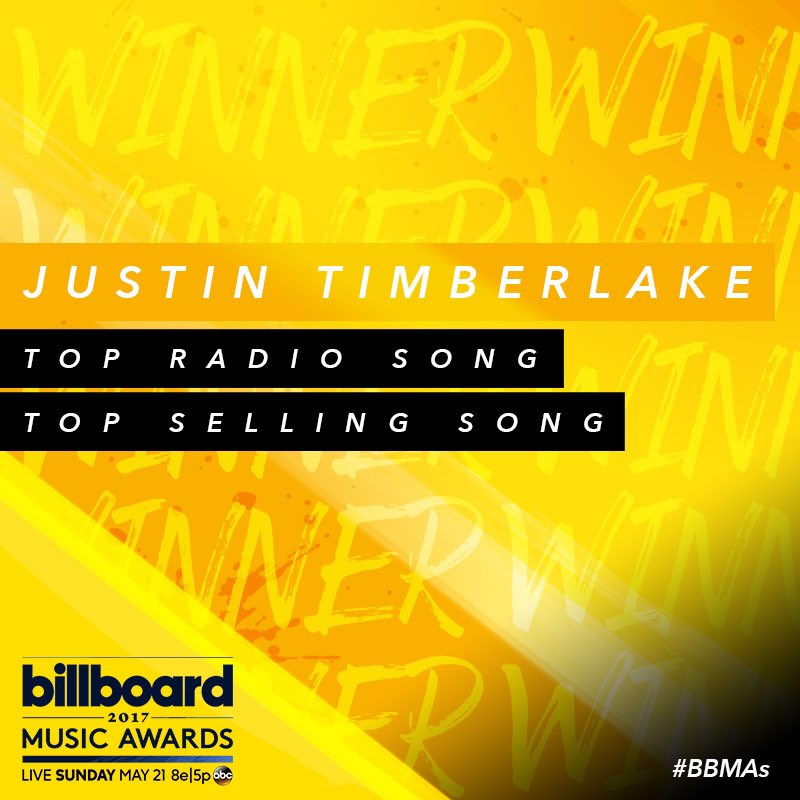 Just heard the news....Thank you @BBMAs for these two awards ����#BillboardMusicAwards #TopRadioSong #TopSellingSong https://t.co/DbsqXar7qL