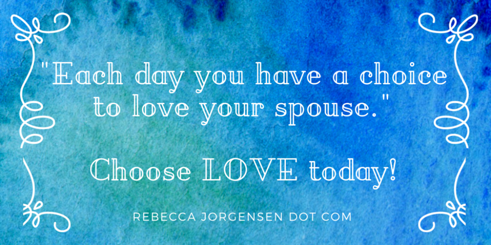 Choose LOVE today! https://t.co/a9JHWX398H