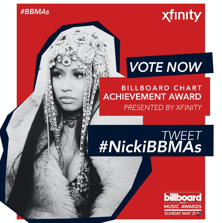 #NickiBBMAs