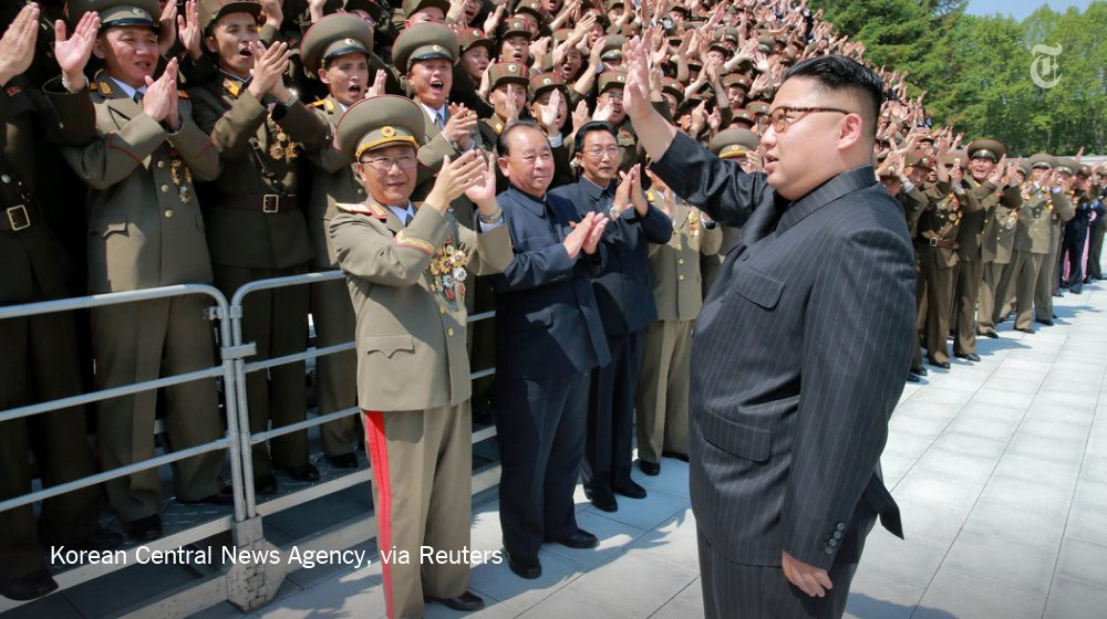 North Korea fired a medium-range ballistic missile on Sunday