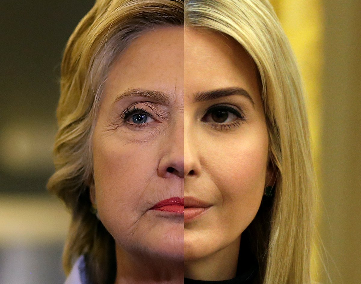 Is Ivanka Trump the new Hillary Clinton in the White House?