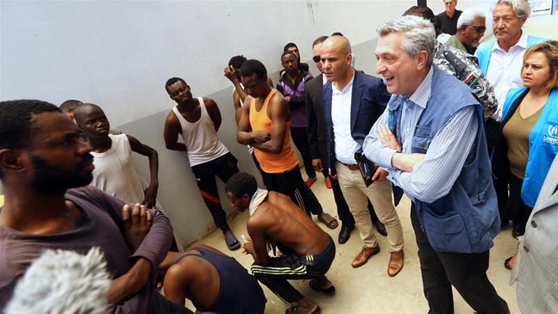 UN urges Libya to release all refugees, asylum seekers