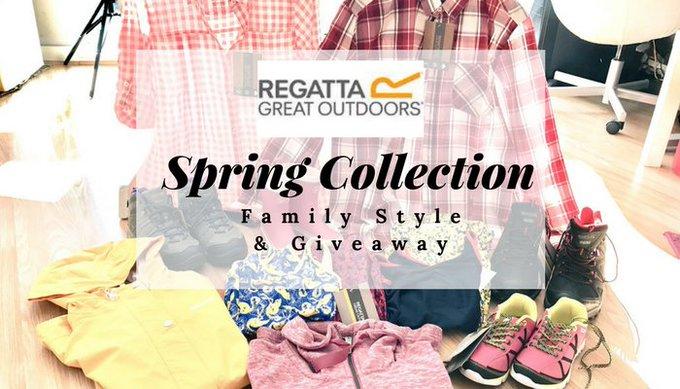 #Regatta Spring Collection #Giveaway #Win £100 voucher to spend at Regatta E:03/06