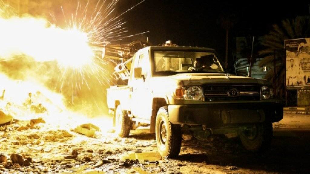 Haftar forces bombard rivals after Libya airbase attack