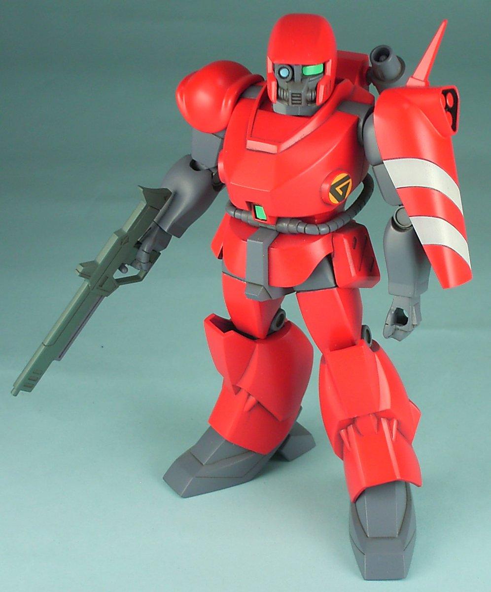 ドラグナーより1/144ダインです。ヤリは撃ち出しません(笑)別売りの武器セット使えば地上用にもできます。グンジェム隊も