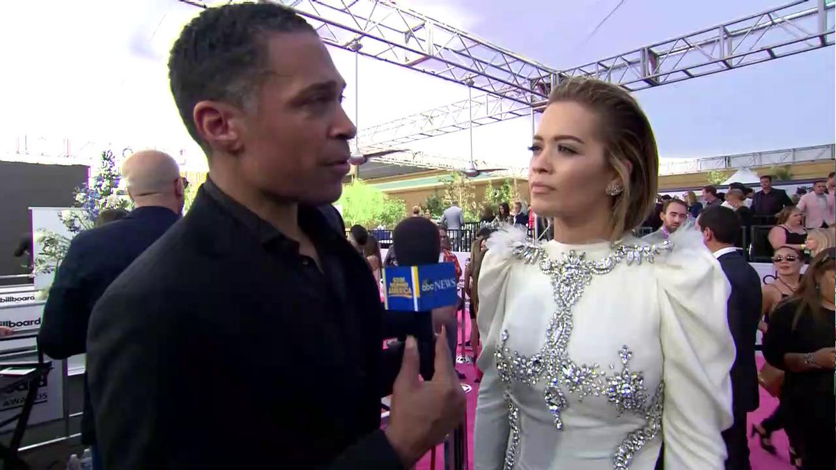RT @GMA: WATCH: @RitaOra talks about having a big year and
