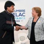 Evo Morales está dispuesto a dialogar con Michelle Bachelet en Ecuador