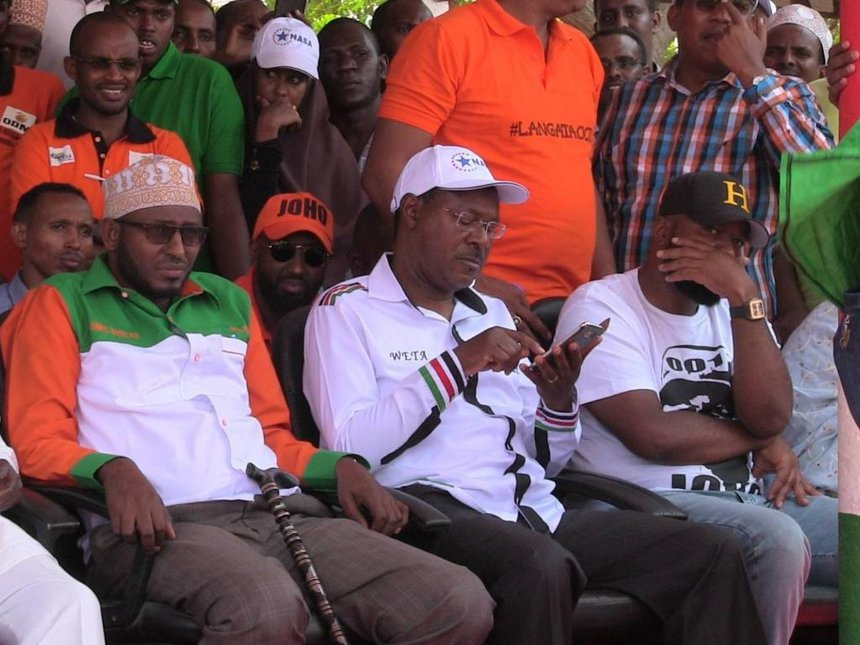 Governor hopefuls hit campaign trail in Wajir