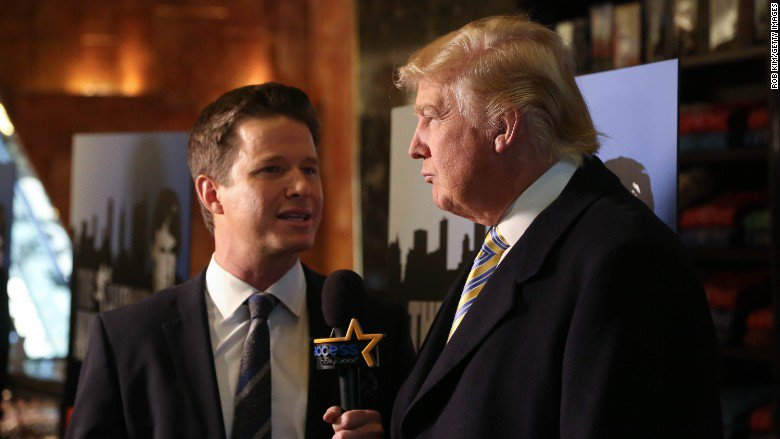 "Billy Bush talks Trump ""Access Hollywood"" tape: ""I wish I had changed the topic"""