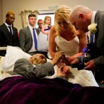 Cancer patient with days left to live marries girlfriend in emotional wedding organised by kind strangers