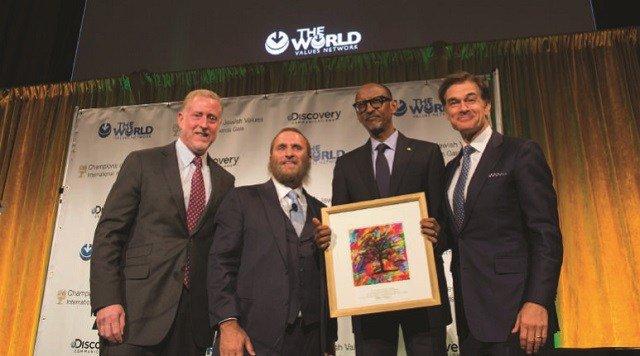 Jewish body honours Kagame