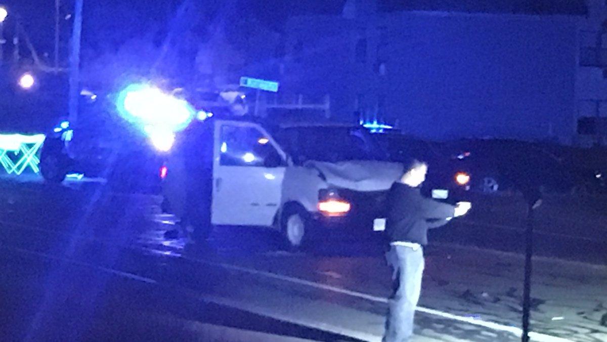 Drunken driver accused of hitting pedestrian