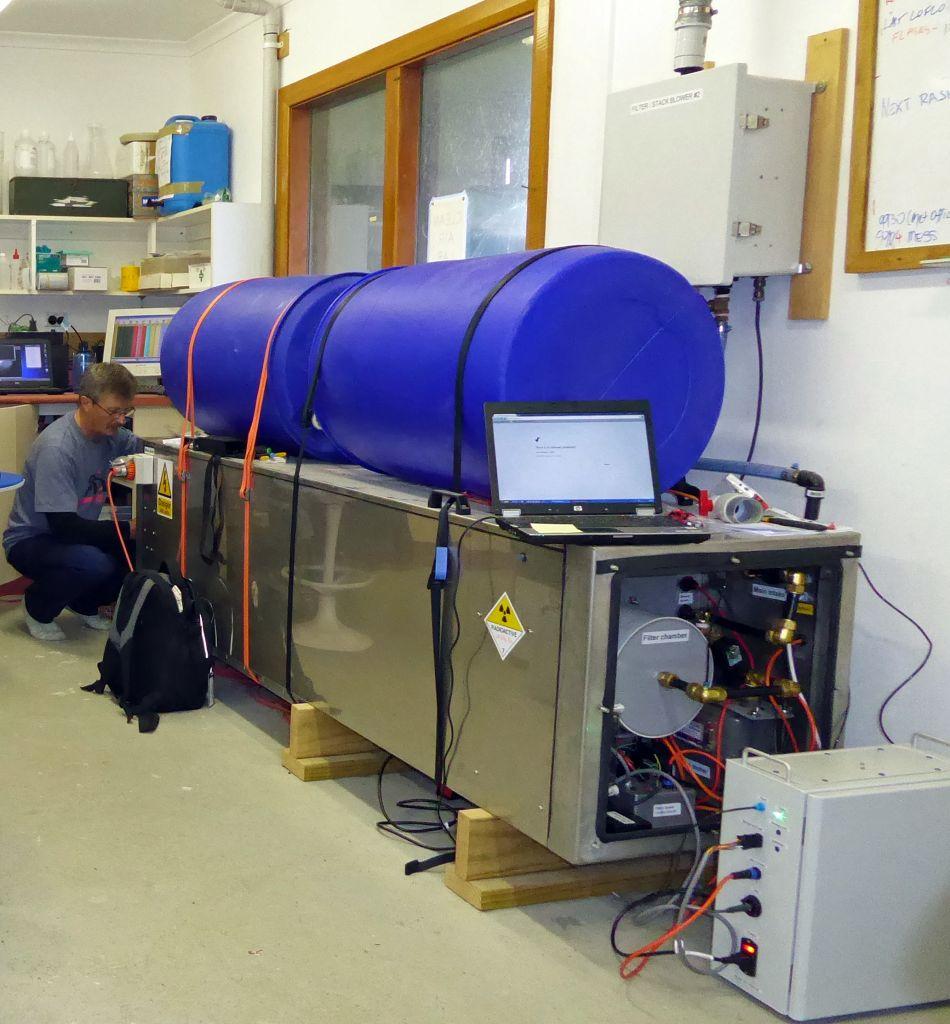 Radioactive gas leaks atmospheric secrets