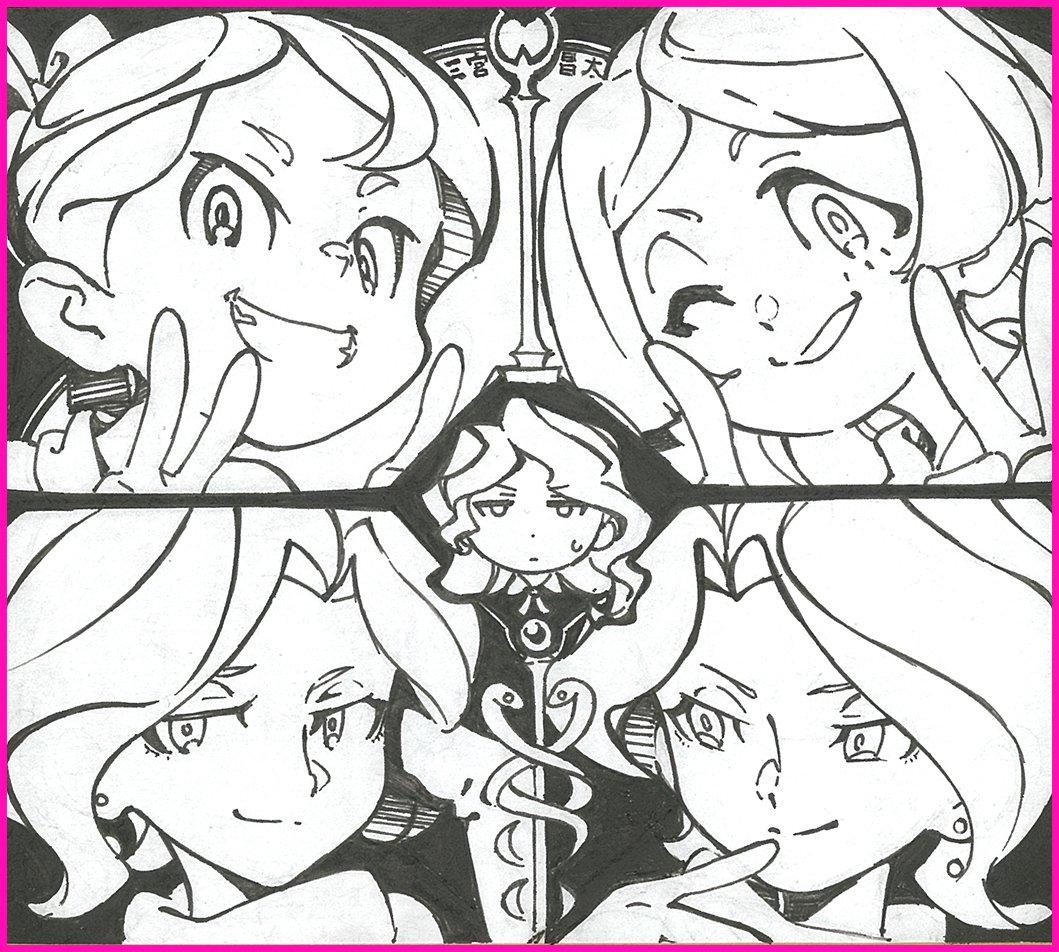 TVアニメ『リトルウィッチアカデミア』Twitterキャンペーン実施中!毎話の感想を #LWA感想 を付けてツイート頂い