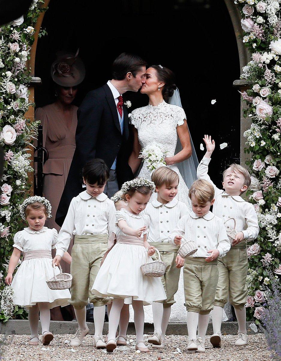 キャサリン妃・妹の挙式にジョージ王子&シャーロット王女も!メーガンは披露宴に #ロイヤルファミリー #ジョージ王子 #シ