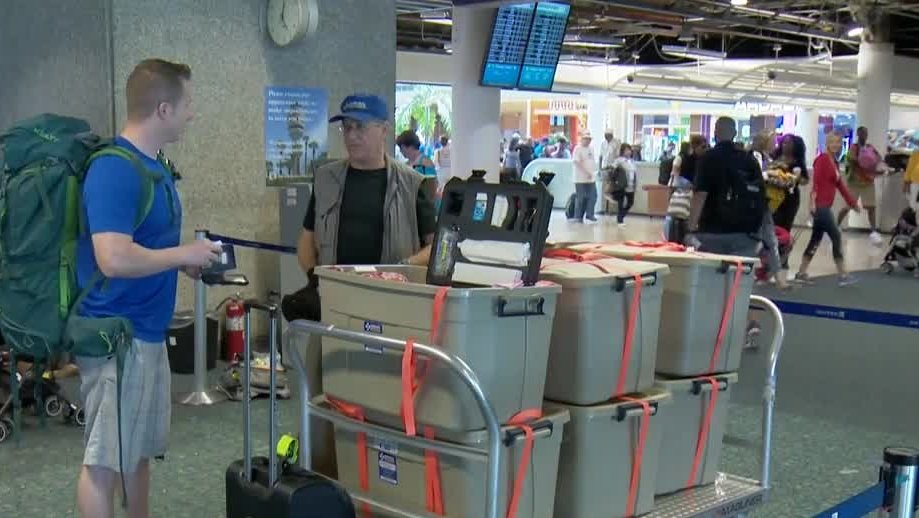 Air Mobile Ministries en route to South Sudan with water purifiers